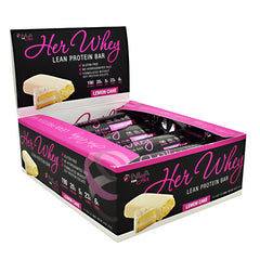 NLA For Her Her Whey Bar - Lemon Cake - 12 Bars - 670534684122