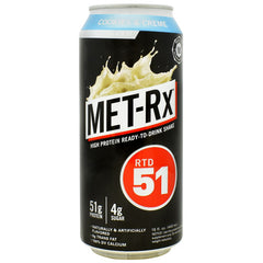 Met-Rx USA RTD 51 - Cookies & Creme - 12 Cans - 00786560151764