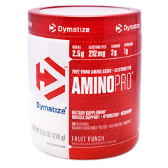 Dymatize AminoPro - Fruit Punch - 30 Servings - 705016180028