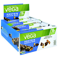 Vega Protein Snack Bar - Chocolate Peanut Butter - 12 Bars - 838766080925