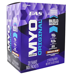 EAS MYO Original Myoplex - Chocolate Cream - 20 Packets - 791083005159