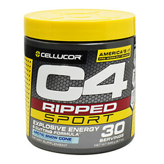 Cellucor C4 Ripped Sport - Arctic Snow Cone - 30 Servings - 842595105346