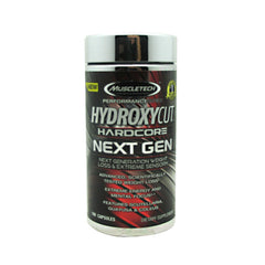 Muscletech Performance Series Hydroxycut Hardcore NEXT GEN - 80 Capsules - 631656606560