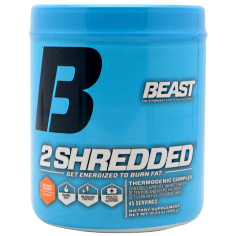 Beast Sports Nutrition 2 Shredded - Orange Mango - 45 Servings - 631312707013