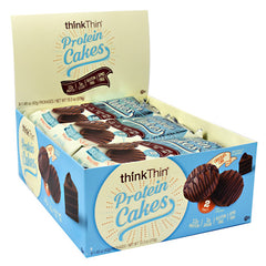 Think Products Protein Cakes - Chocolate Cake - 9 Packages - 753656714806