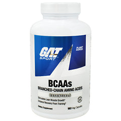 GAT Essentials BCAAs - 180 Capsules - 859613000224