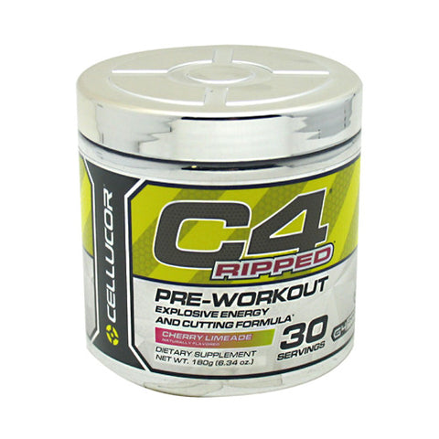 Cellucor C4 Ripped - Cherry Limeade - 30 Servings - 810390025312