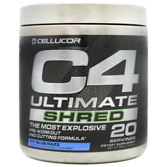 Cellucor C4 Ultimate Shred - Icy Blue Razz - 20 Servings - 842595108071