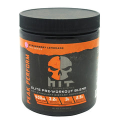 HiT Supplements Peak Perform Non-Stimulant - Strawberry Lemonade - 45 Servings - 793573882974