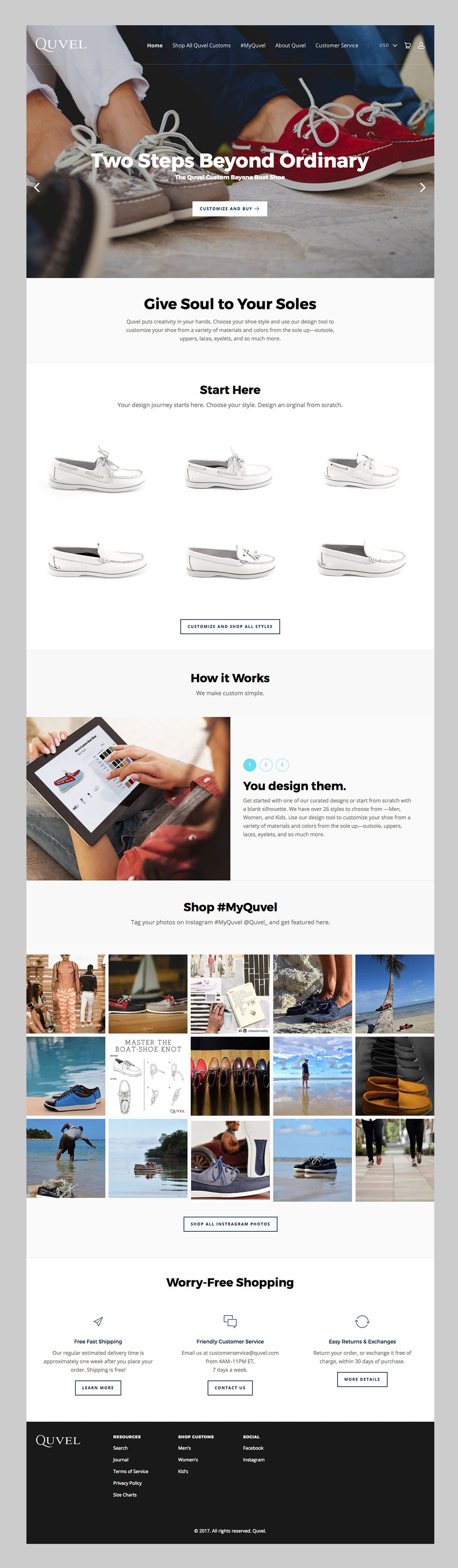 Quvel responsive Shopify theme.