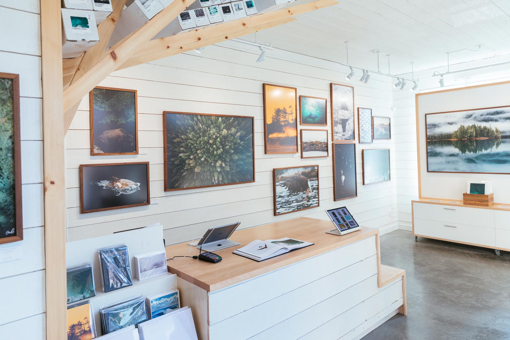 VISIT OUR GALLERY IN THE HEART OF TOFINO