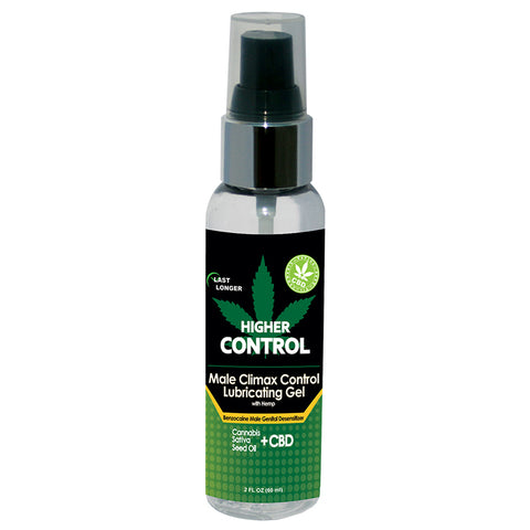 Higher Control Climax Control Gel with Hemp Seed Oil