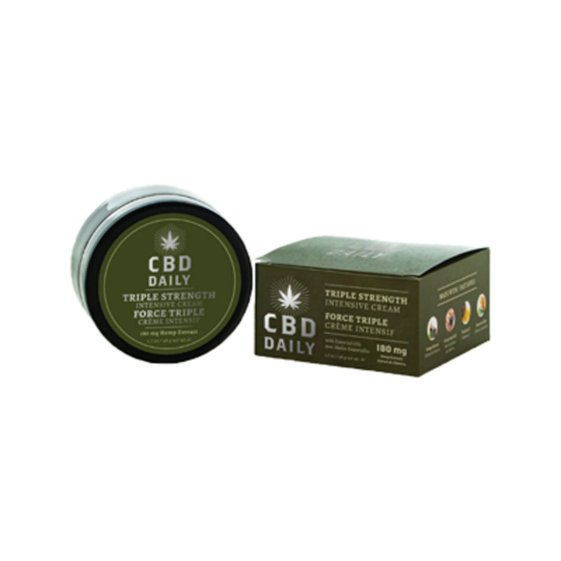 CBD Daily Intense Cream Triple Strength