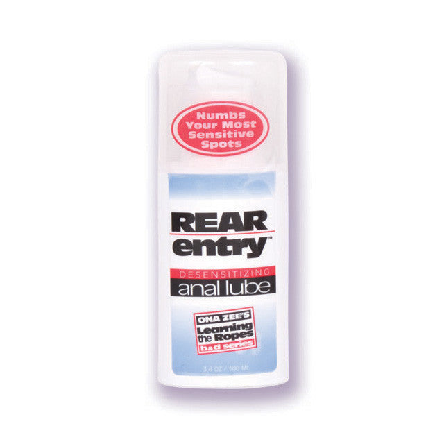 Ona Zees Rear Entry Desensitizing Anal Lube