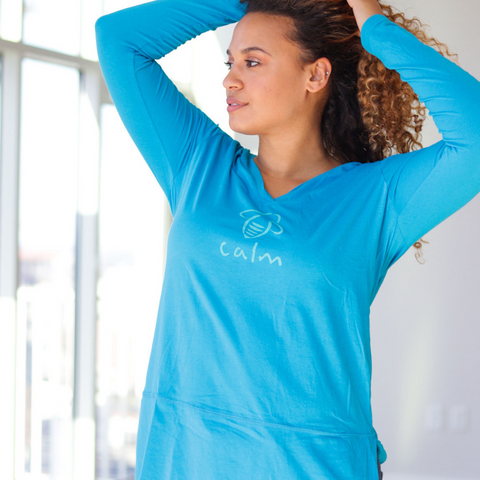 Bee Empowered Long Sleeve V-Neck