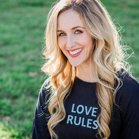 Love Rules Everyday Sweatshirt - BeeAttitudes