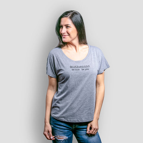 Authentic Dolman - Heather Gray - BeeAttitudes