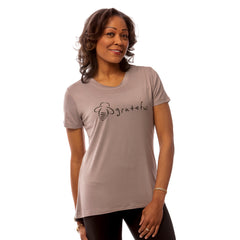 Bee Grateful EveryBody Tee - Gray - BeeAttitudes