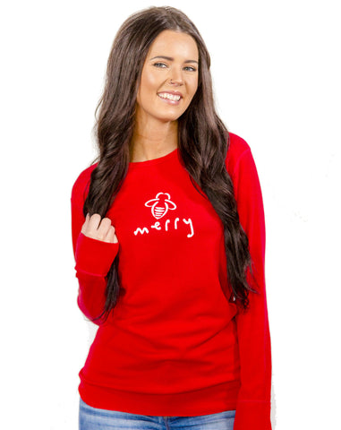 Bee Merry Red Thermal