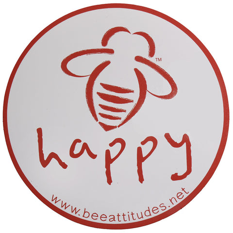 Bee Grateful White/Vintage Purple Magnet