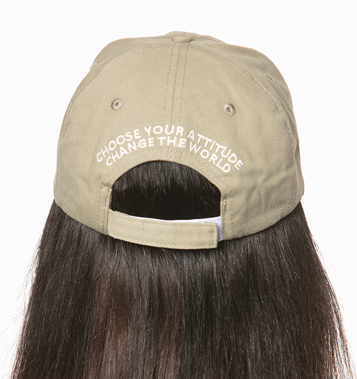Bee Happy Baseball Cap - Army Green - BeeAttitudes