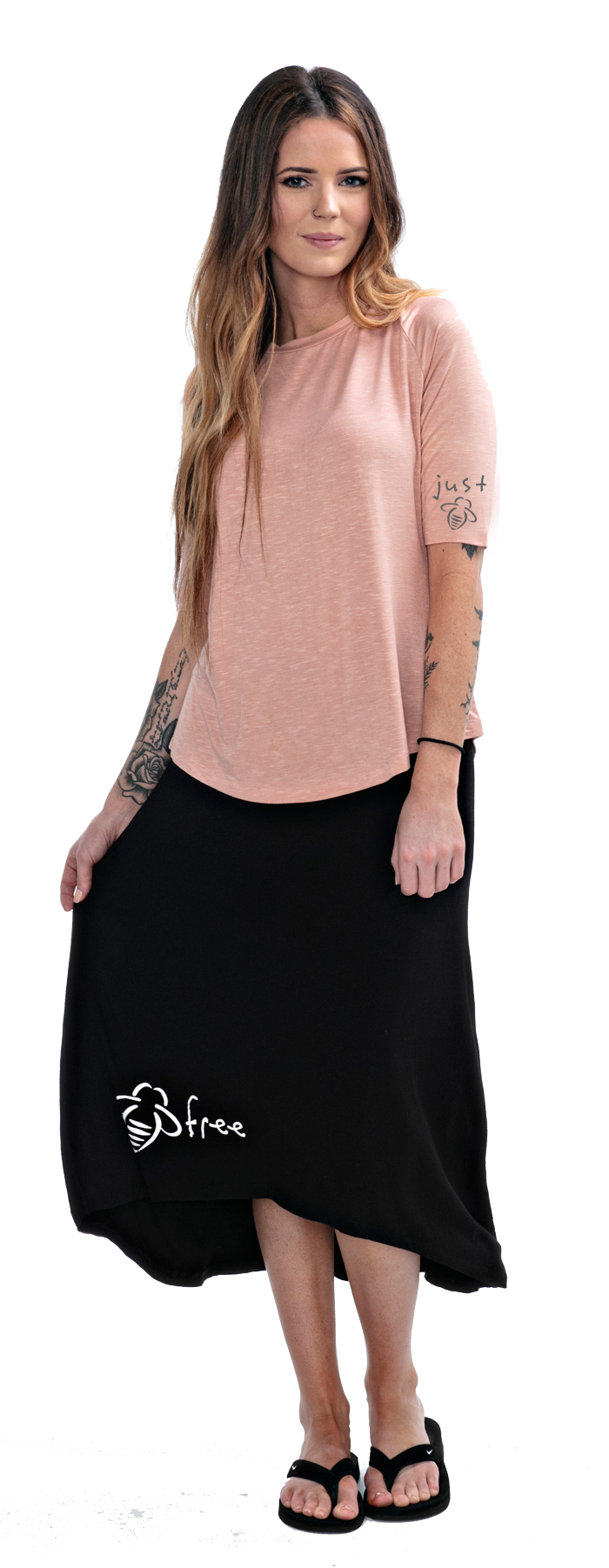 Just Bee Elbow Sleeve Tee