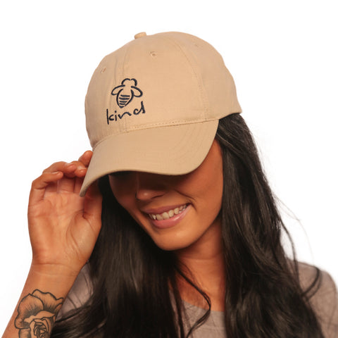 Bee Strong Twill Baseball Cap
