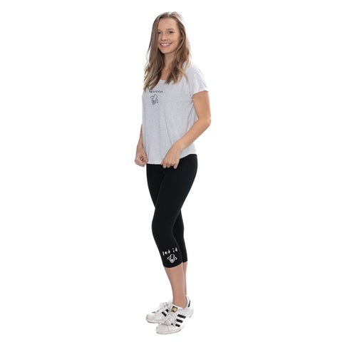 Let It Bee Capri Leggings - BeeAttitudes