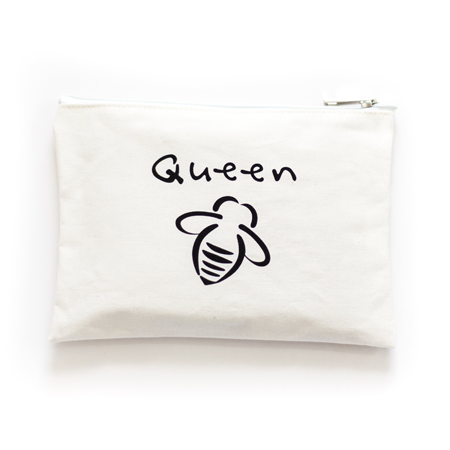 Canvas Zip Pouch - Bee You