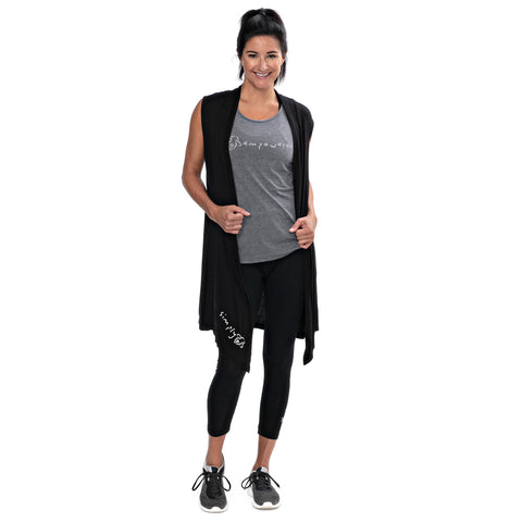 Simply Bee Black Vest - BeeAttitudes