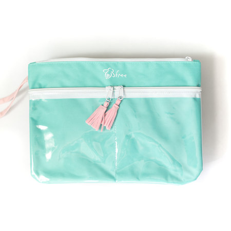 Canvas Zip Pouch - Bee Kind