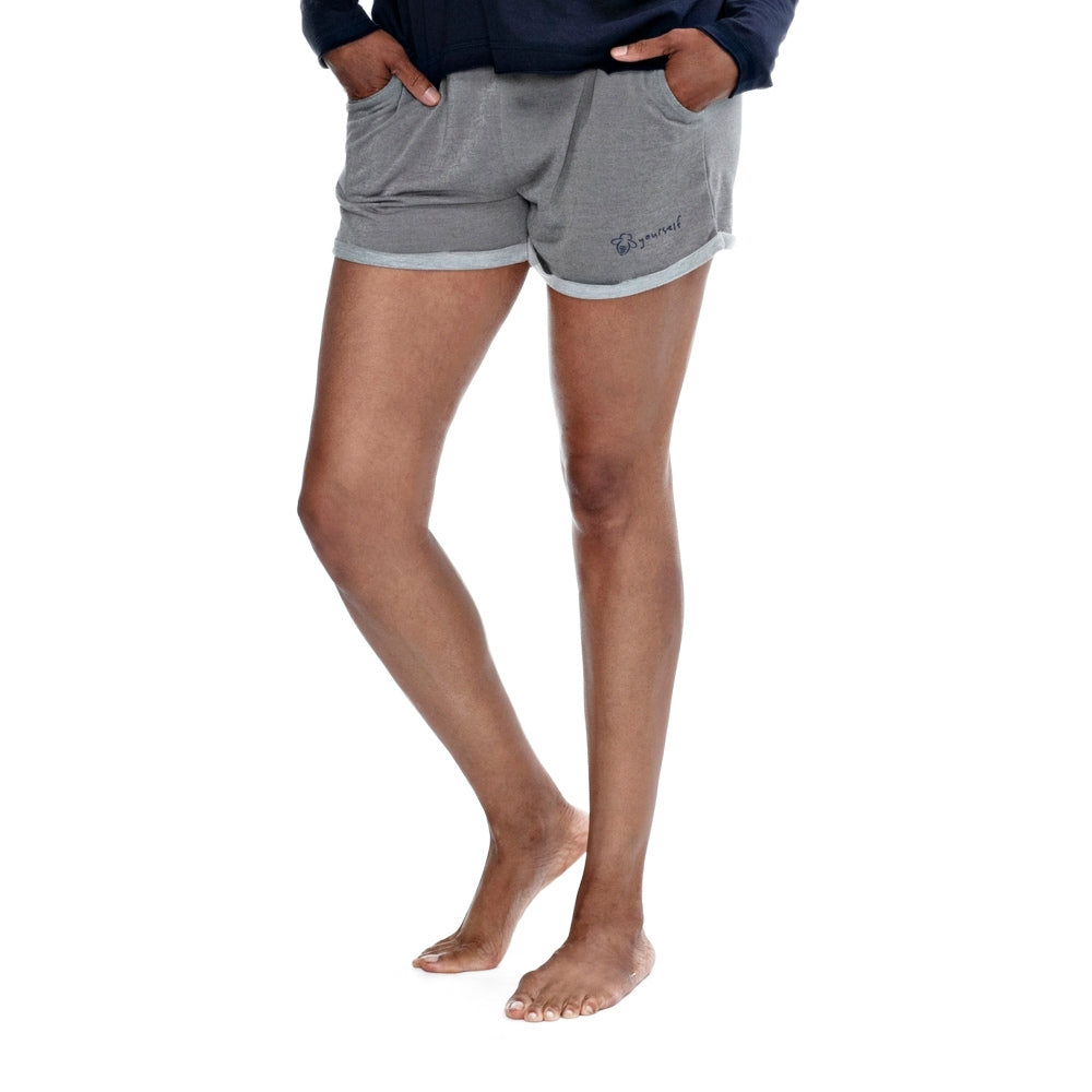 Bee Yourself Shorts - light gray - BeeAttitudes