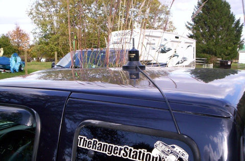 Hook up dual cb antennas