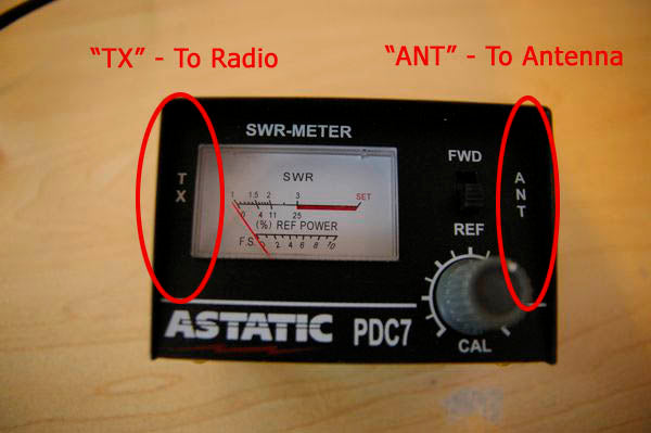 SWR Meter Coax Connections | Right Channel Radios