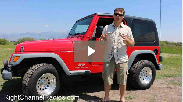 1955-2006 CJ, YJ, TJ Jeep CB Radio Kit - Video