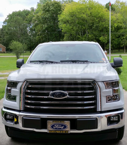 Magnetic Antenna Mounting Plate for 2015 Ford F150 Aluminum Body Trucks-NO Drilling Required