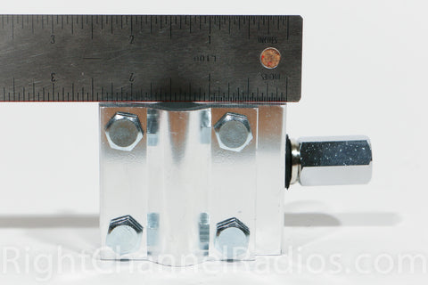 3-way Mount With HD Antenna Stud - Size