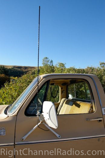 3 Way Mirror Mount For Cb Antennas Right Channel Radios