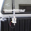 Firestik 3-Way Antenna Mount installed on Pickup Bed Rail
