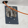 Firestik 3-Way Antenna Mount Installed on Motorhome Inner Plate