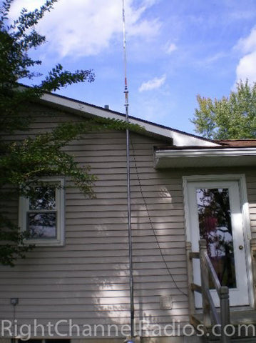 Antron 99 CB Antenna Installed next to house
