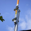 Antron 99 Installed on Metal Pole