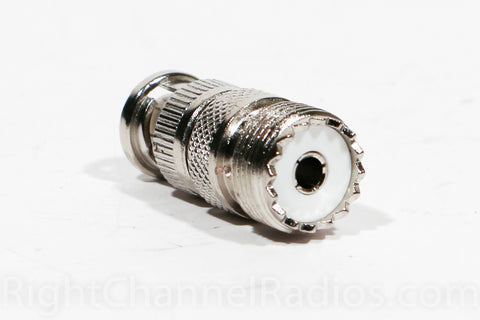 BNC Male to UHF Female Adapter - UHF End