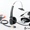 Cobra CA BTCB4 Bluetooth headset and included parts