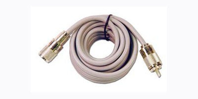CB Coax Jumper Cable - 3' (gray)