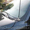 Chevy 2002-2007 CB Antenna Mount installed