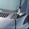 Chevy 2002-2007 CB Antenna Mount Front View