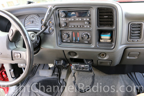 Uniden Pro 520 XL CB Radio Installed in Chevy Truck