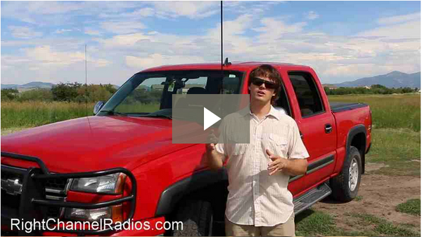 Chevy Truck CB Radio Kit - Video
