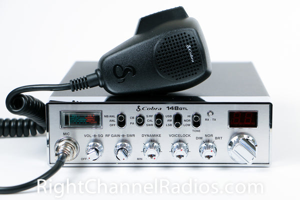 Cobra 148 Gtl Cb Radio Right Channel Radios